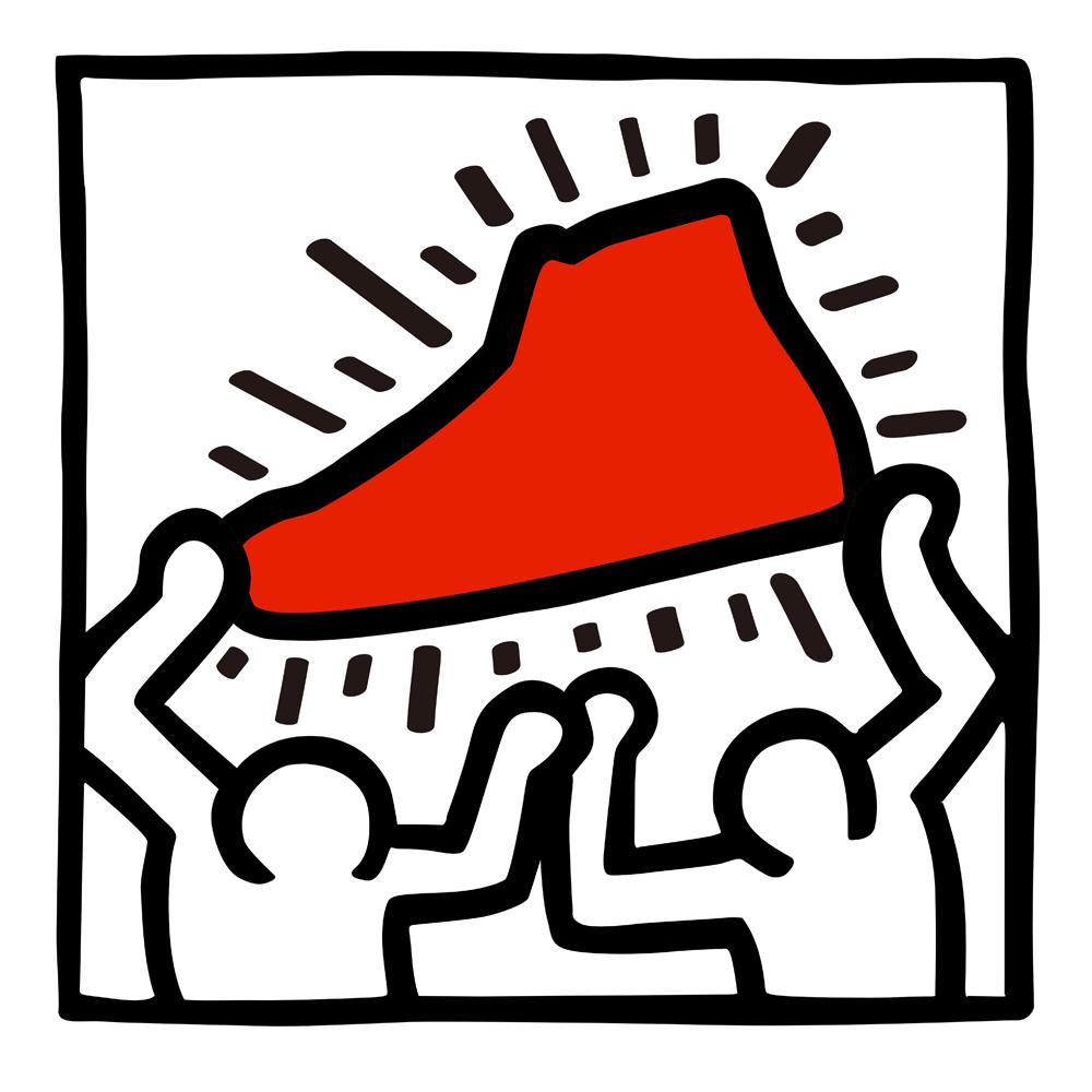Keith-Haring copy